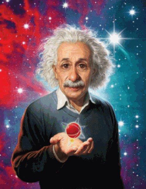 """#UnDíaComoHoy, de 1879, nació Albert Einstein. """"Lo importante es no dejar de hacerse preguntas"""". #Ciencia3M https://t.co/Dd3YYyUXuQ"""