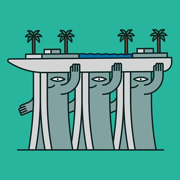 Illustrator Animates Architectural Landmarks with Quirky Personalities. https://t.co/dRyuqbWwb8 https://t.co/C2iPUZZIMT