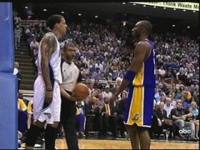 One of Kobe's greatest moments, not flinching on this play... https://t.co/EBhG9LOrqK