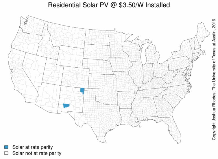 When will rooftop solar be cheaper than the grid? Here's a map https://t.co/8G3uIMPuel https://t.co/yzh8txMHax
