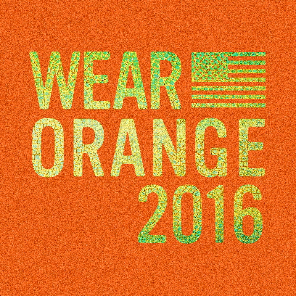It's coming… June 2nd… Wear Orange 2016. End gun violence with NFTY at https://t.co/h4h51snYdE #NFTY #WearOrange https://t.co/zGFcbNw7PN