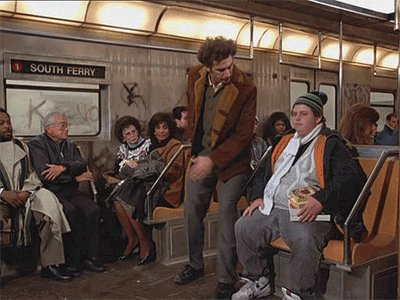 #StayFarAwayFrom that one guy on the #NYC subway.