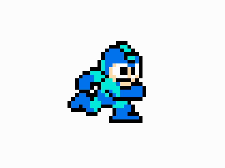 Animated up Megaman's classic 4 frame run cycle to buttery smooth 24, because he deserves it https://t.co/xQdqfKQClL
