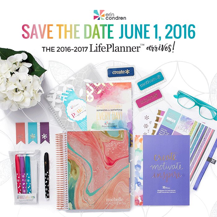 June 1 is our official #ECLifePlanner Launch Date! Check out the #ECblog 4 more #sneakpeeks https://t.co/EiRIAllwk0 https://t.co/EsXHpWV2lW