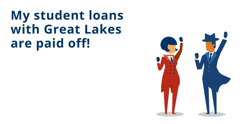 I'm so happy that I paid off @MyGreatLakes student loans this year! #Adulting #HappyDay  #PaidInFull
