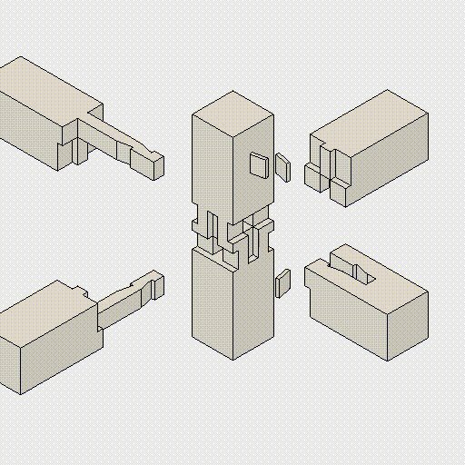 These deeply satisfying GIFs explain intricate Japanese joinery