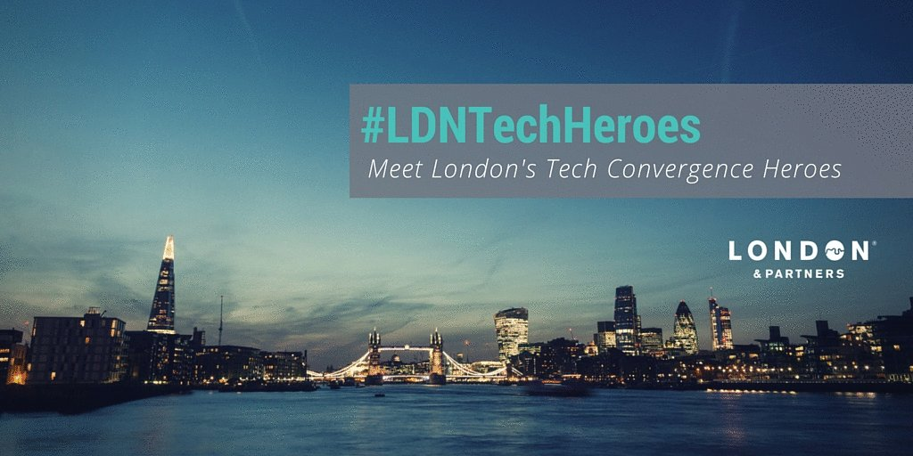 Pleased to announce our #LDNTechHeroes - 10 London co's disrupting industries with #tech https://t.co/OPuAMgWMc2 https://t.co/D3ww8JsYLX