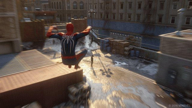 Out of nowhere. #spidermanps4 https://t.co/oCpfSUGaqI