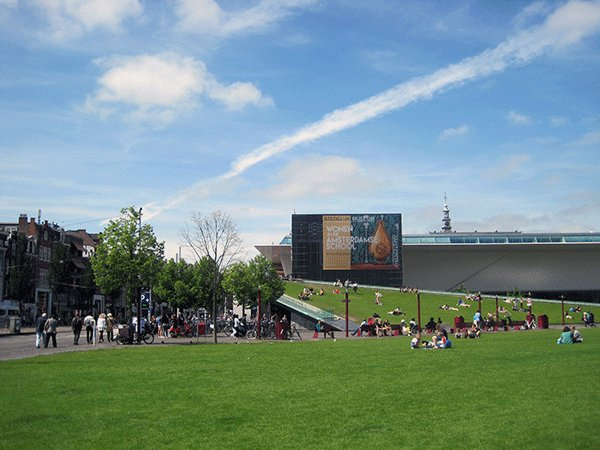 Postcard from #Amsterdam, #Netherlands: @Stedelijk, @VanGoghMuseum, @Rijksmuseum https://t.co/dTLMwwWbK7