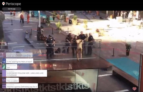 "UPDATE: One witness says naked man taunting Times Square cops was shouting ""NO NO NO TRUMP!"" https://t.co/2y96hskd8l https://t.co/ByoZbeDeKd"