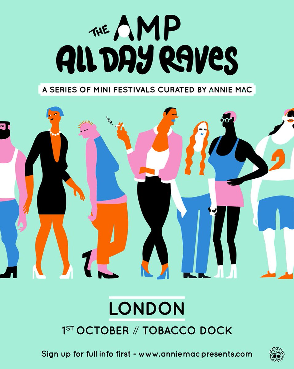 One more comp! RT to WIN a pair of tickets to The AMP All Day Rave https://t.co/kbOR2NLFC0 @TobaccoDockLon https://t.co/N6Bvjwu5jb