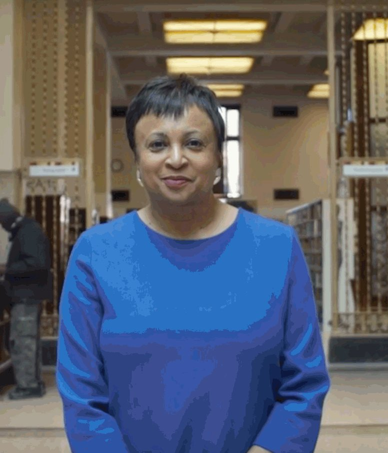 Congratulations to our new Librarian of Congress: Carla Hayden! https://t.co/QvQAFWlSV8 https://t.co/c3GOPuG4dA