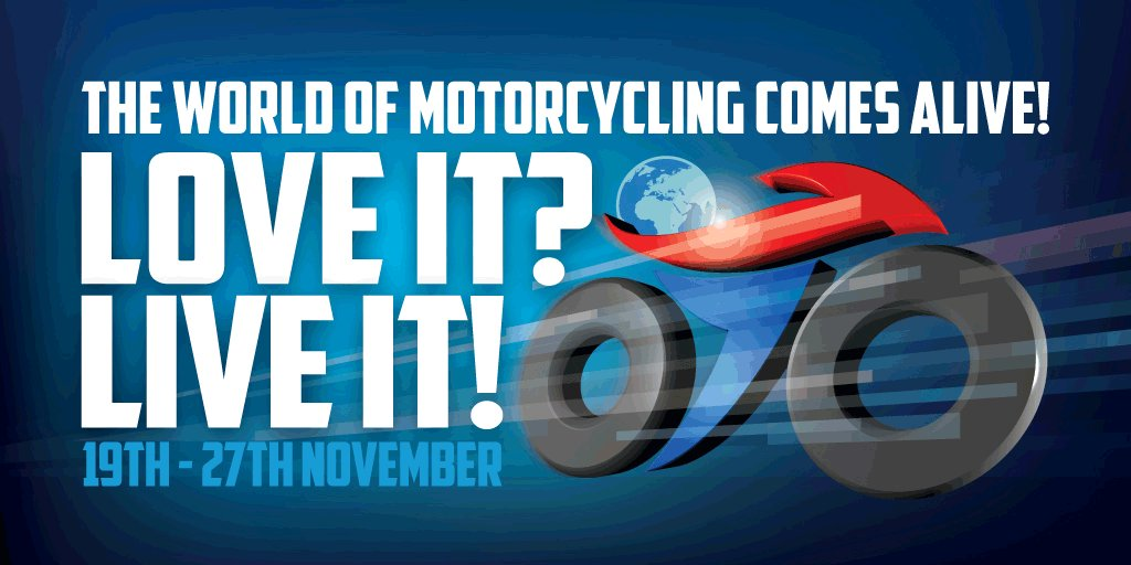 #MotorcycleLive tickets are on sale now! Love it? Live it! 19-27 Nov at The NEC. Book at https://t.co/mDbwCM79Xd https://t.co/MowW0Nhsob