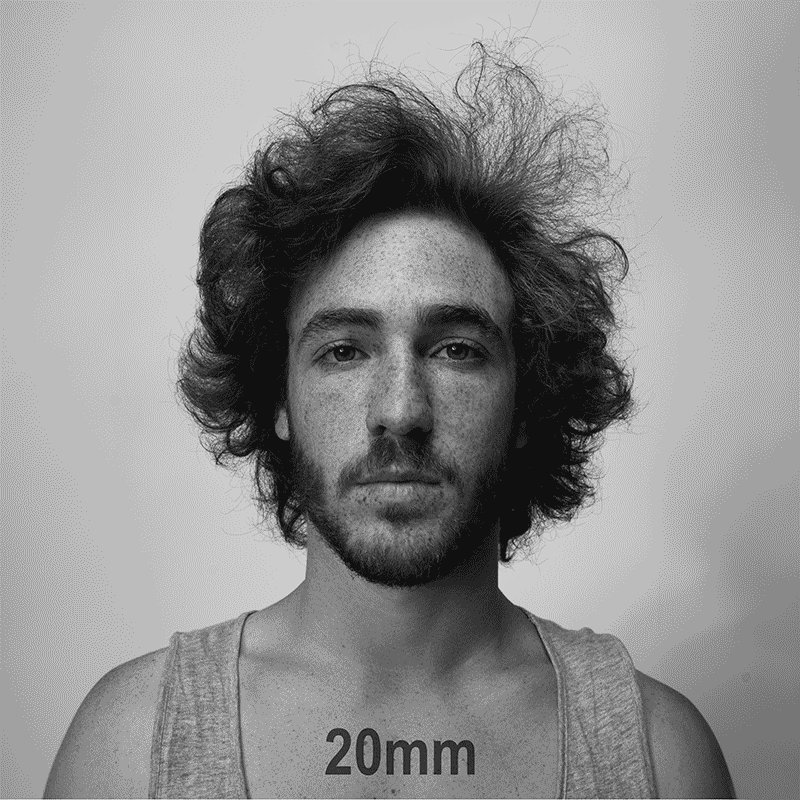Fascinated by Dan Vojtêch's example of how focal length (and distance) affect portraits: https://t.co/bGsYNoOk8l https://t.co/Uy0P9wN3cZ