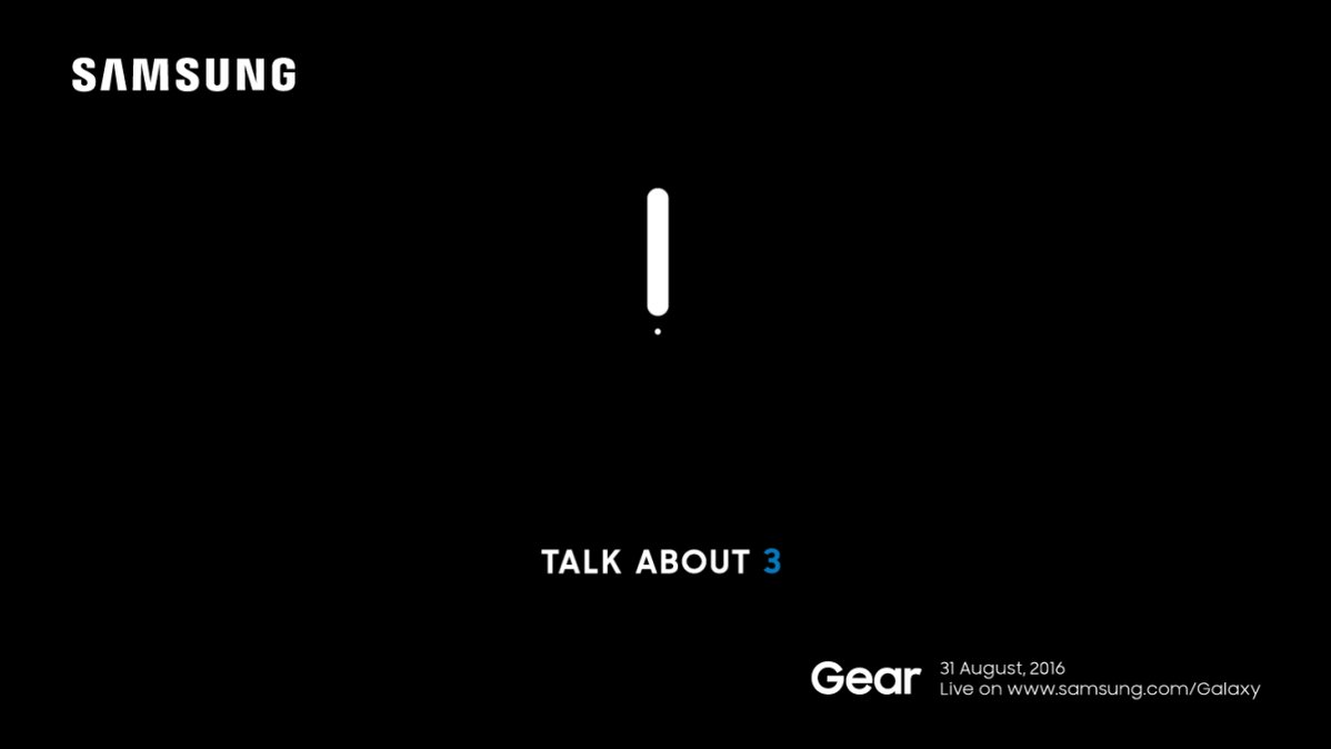 Samsung will launch the Gear S3, its newest smartwatch, on August 31