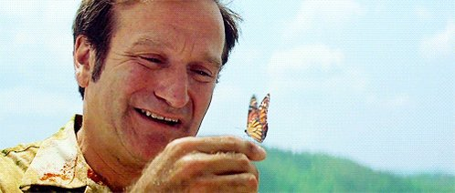 """""""You're only given a little spark of madness. You mustn't lose it."""" Two years ago today we lost Robin Williams. https://t.co/PX4mCGTMPU"""