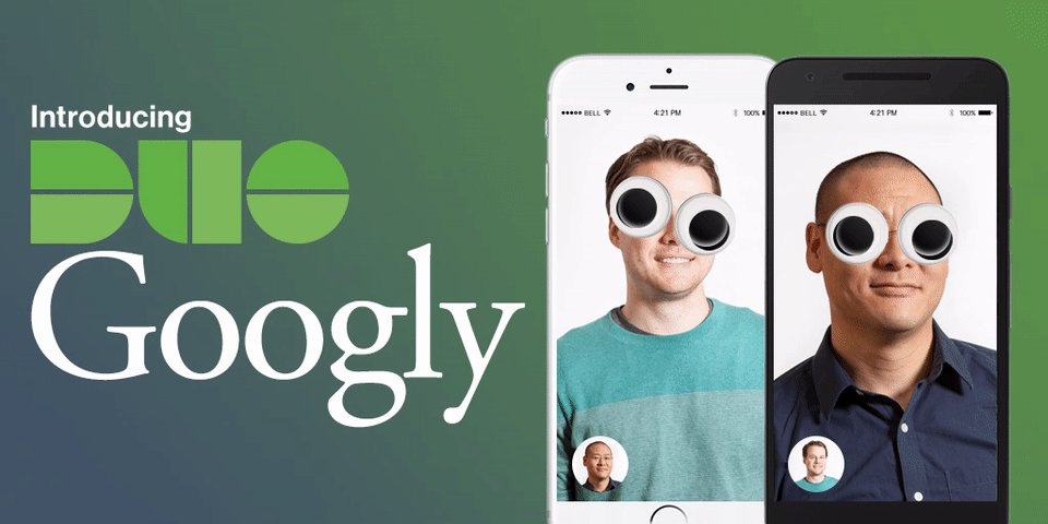 We're proud to announce our newest product. Feast your eyes on Duo Googly: https://t.co/T1mHX5avld https://t.co/tlDkVmGeYa