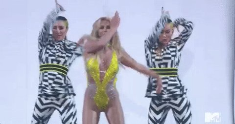 She's killing it #BritneyVMAs https://t.co/UzvMwAHTZE