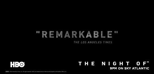 RT @HBO_UK: The trial begins on @SkyAtlantic in two days. #TheNightOf https://t.co/mhcR6YjvZR