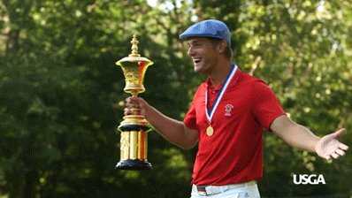 Its a great day to wake up as @b_dechambeau! Congratulations to the 2015 #USAmateur champion on his victory in @MemorialGolf!
