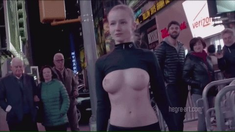 Stunning Model Walks Through New York City In Racy Free The Campaign
