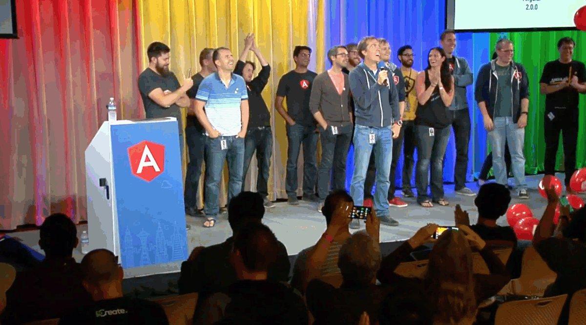 It's here! #Angular2 Final release! Congratulations team! https://t.co/JEI5pkV7Bp #askNg // @angularjs https://t.co/zUzUOyV4TY