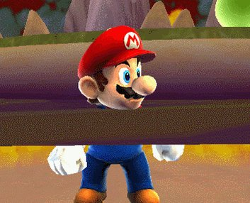 Mario's head is too big for the sinking animation so they cheated a bit https://t.co/FXAB2d76cQ #gamedev https://t.co/iU2nG3beGC