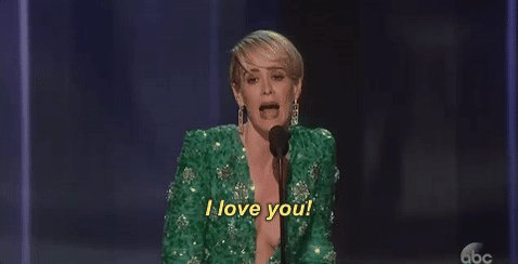 We love you @MsSarahPaulson! Congratulations on winning the #Emmy for Outstanding Lead Actress in @ACSFX #PeoplevsOJ https://t.co/LfEKNYvQVY
