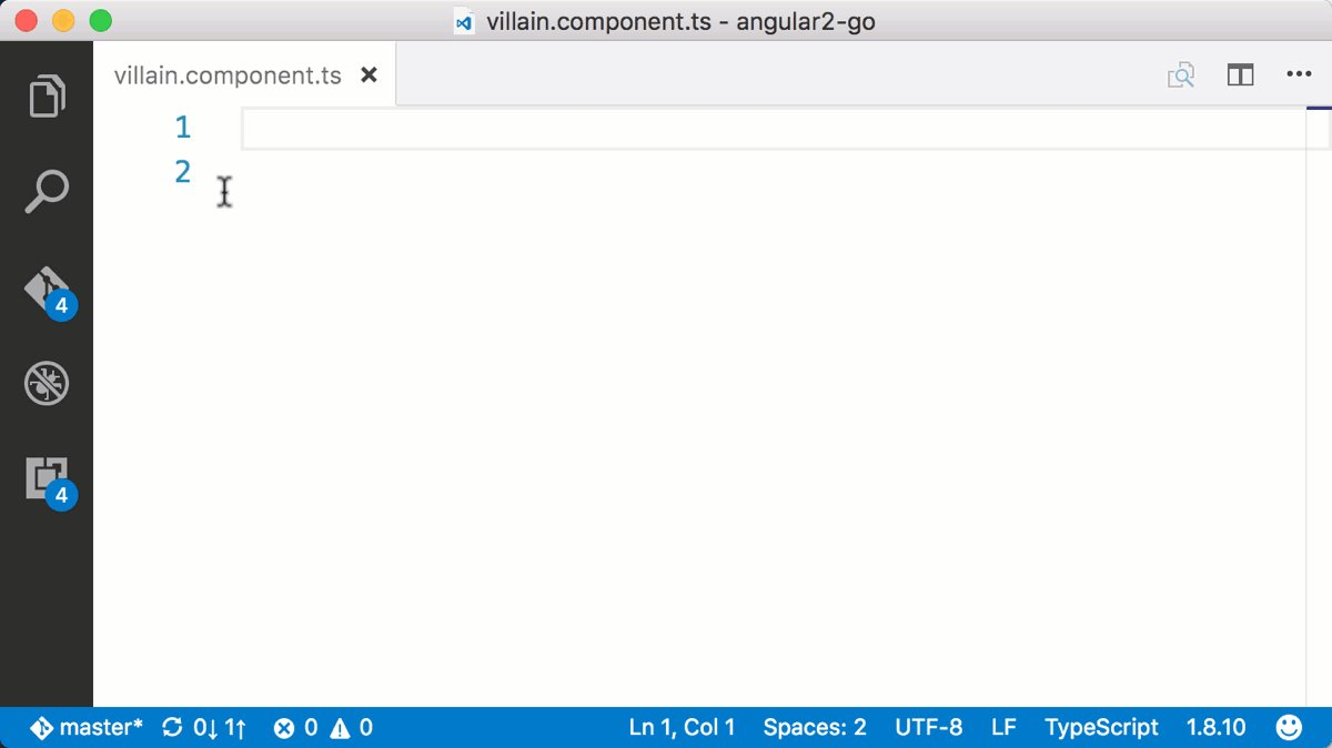 Free #Angular2 snippets for @code , updated for the @angularjs 2 release https://t.co/tbmpJJWHmw https://t.co/ePmTjOyZv0