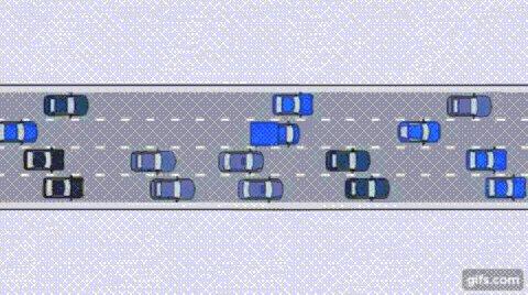 Gereksiz şerit değiştirmenin trafikte yarattığı aksamayı gelin hep birlikte izleyelim: https://t.co/VFC1daK8s0