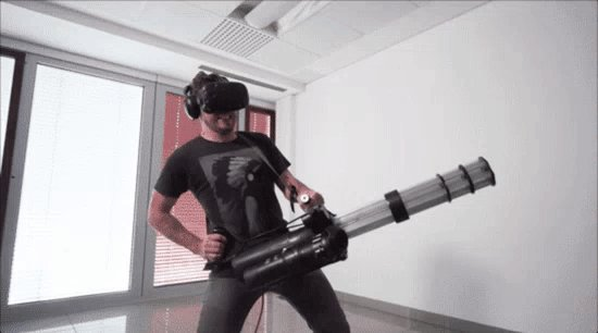 My favorite #VR gif of the month. (Hats off, @Croteam and @htcvive!) https://t.co/Jx7lDjdqjd https://t.co/WFZby7lbzX