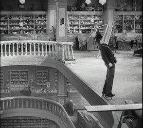 Charlie Chaplin's Modern Times camera trick https://t.co/I8fuEE1W5i