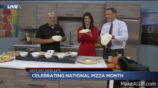 So great to have @MiciItalian in studio today to talk pizza! LOVE this place - love this fam!! KDVR