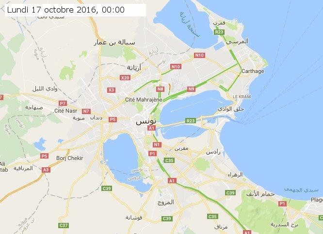 timelapse traffic jam on tunis using https://t.co/1dvRc4kUHt by @fourat https://t.co/4uxQoI2lh8