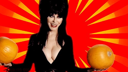 Happy #NationalPumpkinDay Day! #elvira https://t.co/hI9SrW7Lit