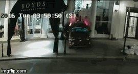 Burglars Drive SUV Through Boyd's Window to Steal $45,000 in Merchandise