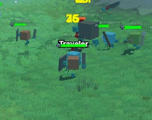 Hording it up with 800 players on the map. hordes.io #gamedev