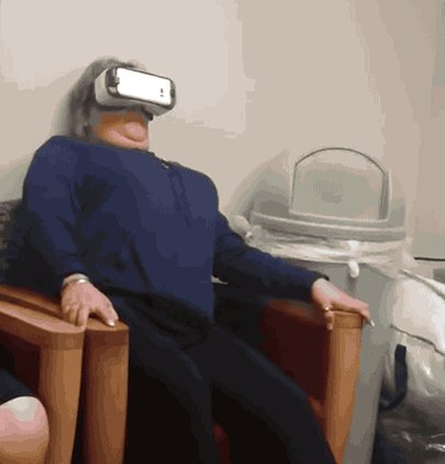 Family Promise To 'Calm' Mother With VR By Putting Her On A Rollercoaster