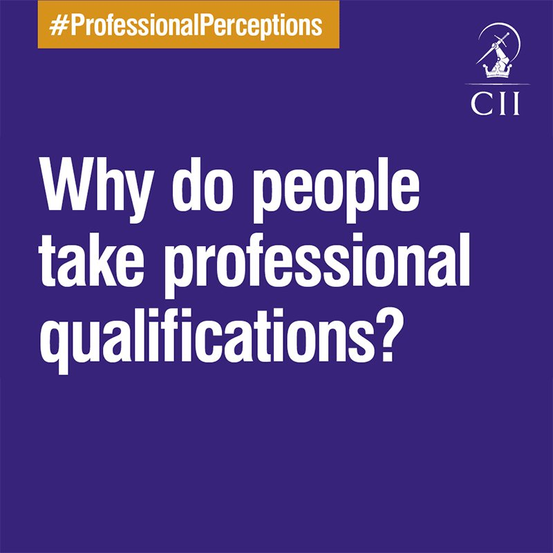 What motivates you to become qualified? #ProfessionalPerceptions Check out more insights: https://t.co/jrch3zIJnb https://t.co/ntrZoidaz6