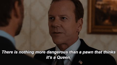 designated survivor on the one thing i do know about