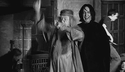 Potterheads after realizing that the wizarding world is finally back on theaters