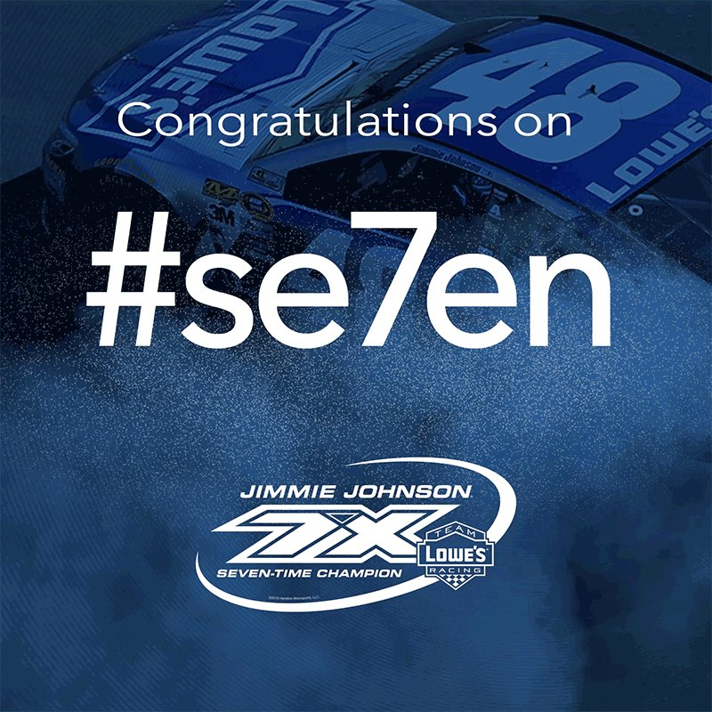 WOW! @JimmieJohnson wins #se7en!! https://t.co/nnwsSButCQ