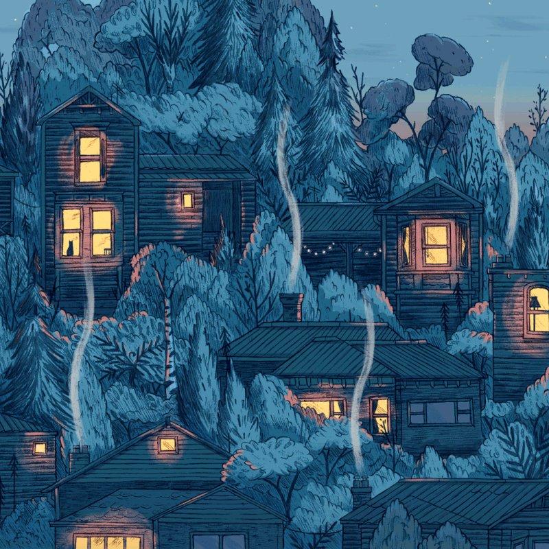 Анимация дома