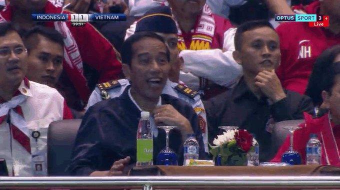 Presiden Jokowi Suporter Terbaik di Dunia, Kata Lilipaly