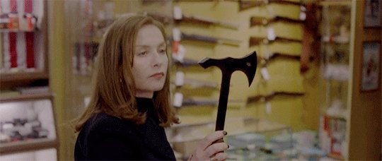 Isabelle Huppert contemplating the Academy's foreign film committee https://t.co/DGbP39Qe4H