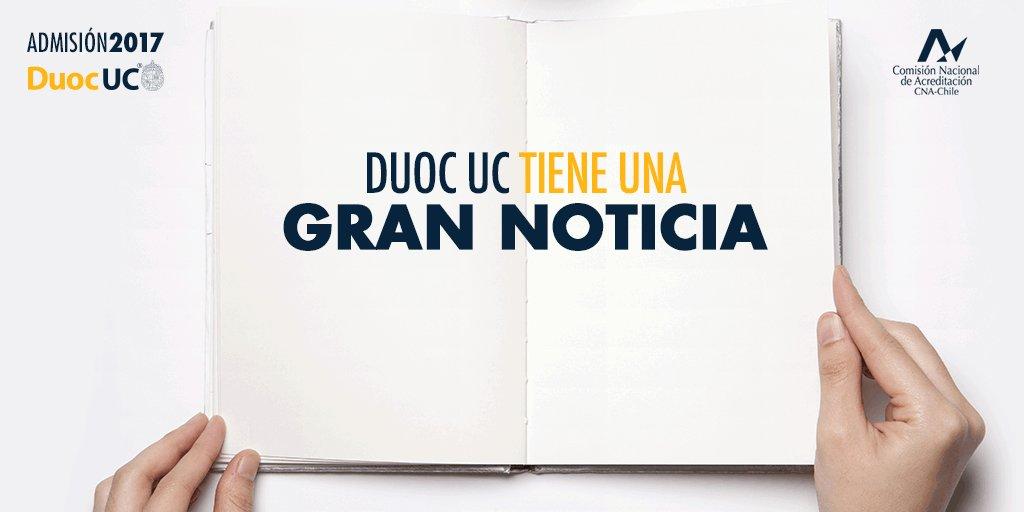 Chile ha dado otro gran paso hacia su desarrollo ¡#DuocUC ingresa al sistema de #Gratuidad 2017! https://t.co/N7QpNTctSG