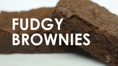 DID YOU KNOW: Today is NationalBrownieDay! So, y'know, make some