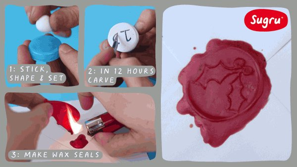 Personalise gifts with your very own wax seal