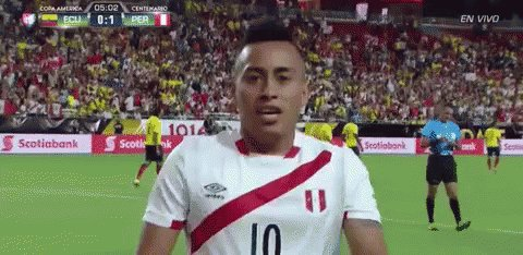 It's. About. To go. DOWN!!!! 🙌🏿 🇵🇪