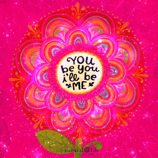 You be you, and I'll be me and together we can be happy! 😃💖💕#JoyTrain #JustBeYou #YouMatter #MondayMindset #BeHumble